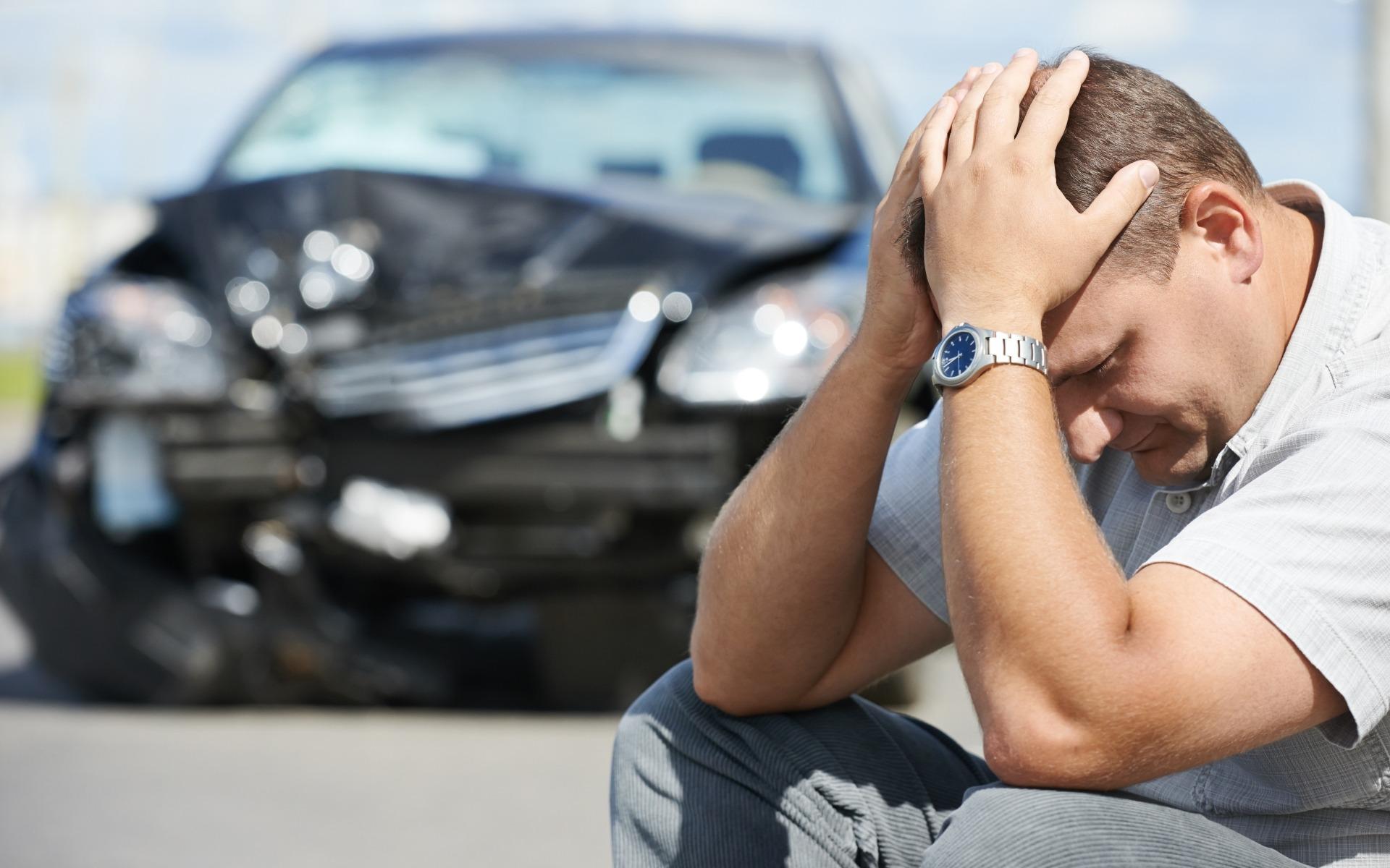 Letsel door verkeersongeluk